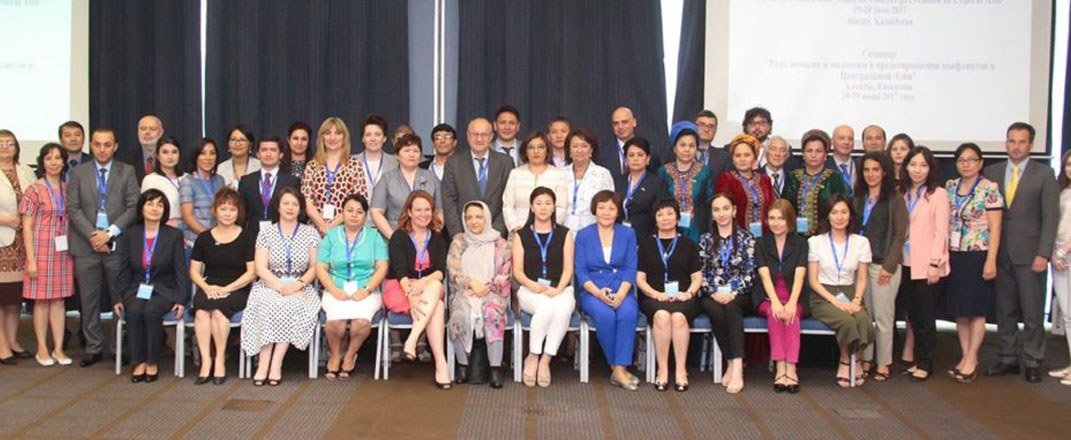 "AISS representative attends ""The role of women and youth in conflict prevention in"