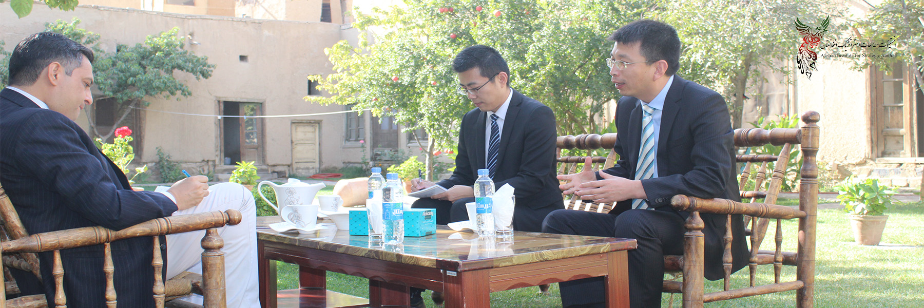 Chinese Official Visits AISS