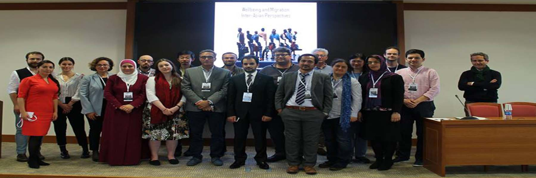 """Launching Conference on """"Wellbeing and Migration: Inter-Asian Perspectives"""" in Istanbul"""