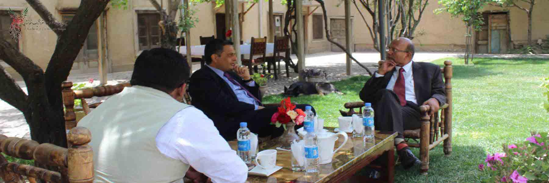 """Indian Ambassador Visits AISS"""