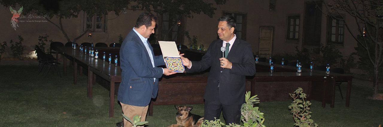AISS Holds a Farewell Ceremony in Honor of Mr. Parwiz Kawa